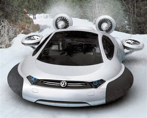 volkswagen thing in water volkswagen aqua hovercraft concept splurt technology