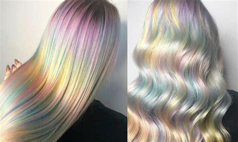 prettiest hair color kaleidoscope hair is 2018 s prettiest hair colour trend