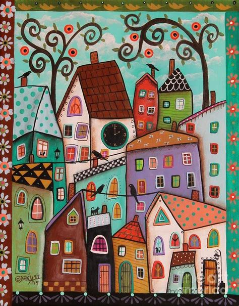 Frame House Plans afternoon art print by karla gerard