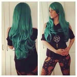 teal hair extensions teal wig teal green hair mermaid hair extensions by cloud9jewels