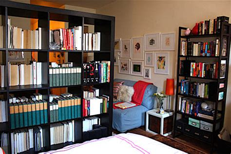 bookcases for small apartments a bookshelf room divider decoist
