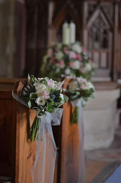 pew end ideas wedding venue decoration pinterest