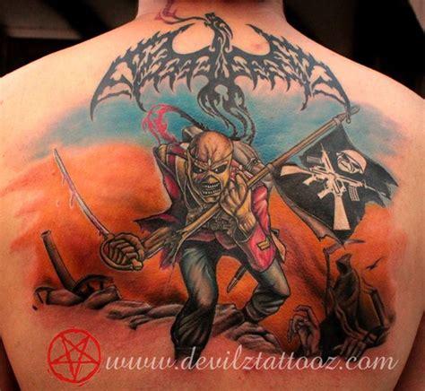 iron maiden eddie tattoo images