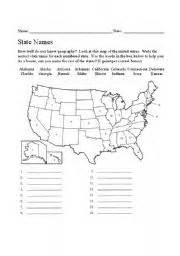 united states map with state names worksheet name the states worksheet tecnologialinstante