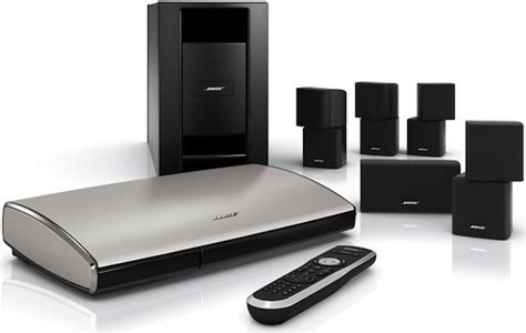 bose lifestyle v35 v25 and t20 home theater systems