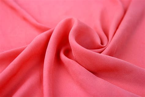 How To Drape Fabric For A Wedding Deep Coral Wool Dobby Chiffon Fabric Wedding Bridal Coral