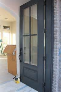 Painting Doors And Trim Different Colors remodelaholic color spotlight benjamin moore wrought iron