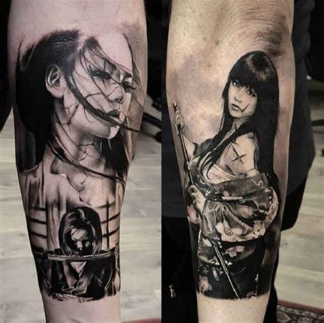 girl japanese tattoo designs japanese fighter tattooed tattoos