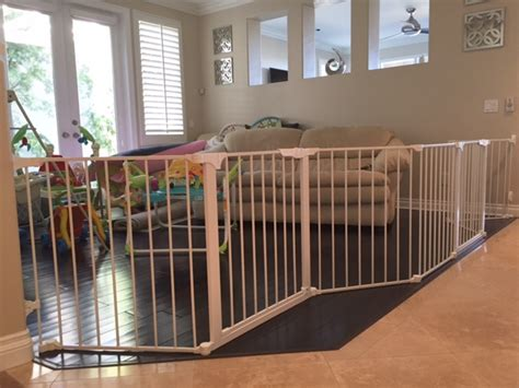 large gate large custom baby safety play room gate baby safe homes