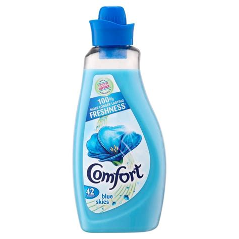 how to use comfort washing liquid morrisons comfort blue fabric conditioner 42 washs 1 5l