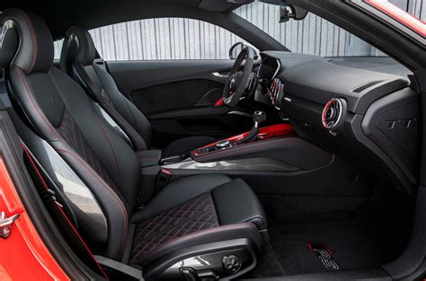 Audi Tt Rs Interior by 2016 Audi Tt Rs Coup 233 Review Review Autocar