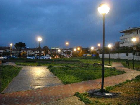 illuminazione parchi cerveteri realizzato l impianto di illuminazione di parco