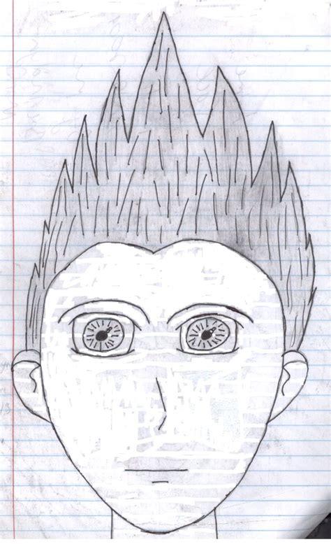 how to draw spiky anime hair spiky hair anime guy by lunarcatninja on deviantart
