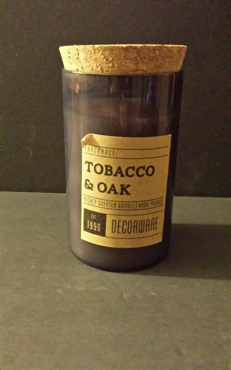 Dw Home Candles Warm Tobacco And Oak by Dw Home Richly Scented Tobacco Oak Candle Poured 13