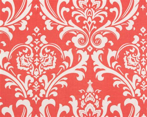 coral damask curtains unavailable listing on etsy