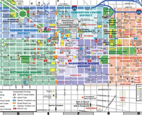 printable street map of philadelphia visitor basics transportation discoverphl com