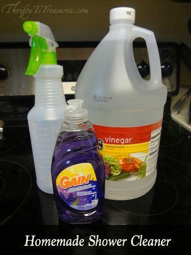 Shower Cleaner Diy by Best 25 Shower Cleaner Ideas On