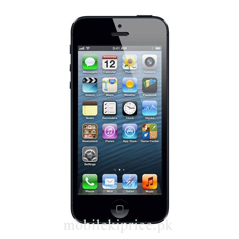 5 iphone price in pakistan apple iphone 5 price in pakistan specs features mobilekiprice