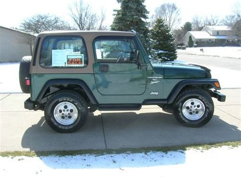 Used 2 Door Jeep Wrangler by Purchase Used 1999 Jeep Wrangler Sport Sport Utility 2