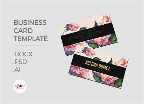 Fancy Business Card Templates by Business Card Template Creati Design Bundles