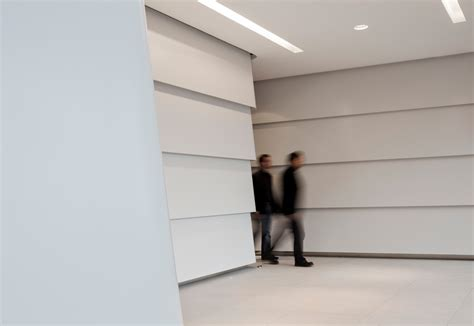 corian walls dupont corian 174 wall panels icade premier house munich by