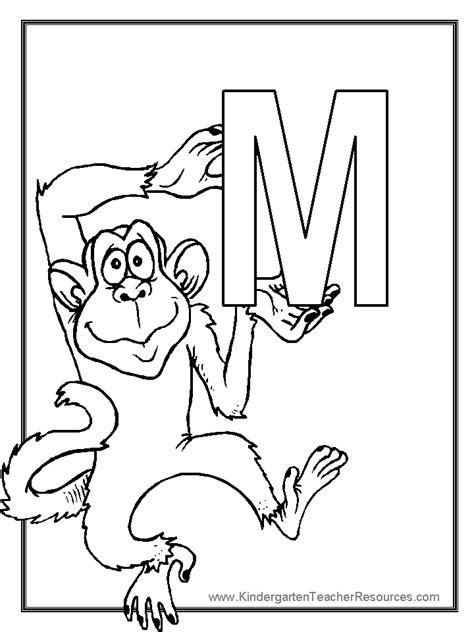 monkey coloring pages for preschool monkey worksheets and coloring pages
