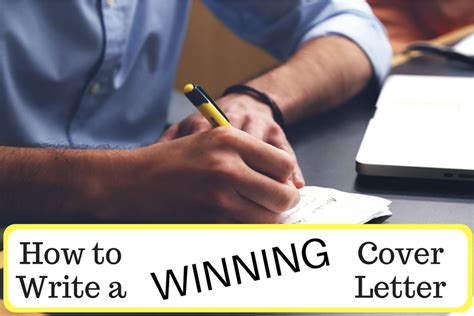 how to write a winning cover letter feedbox