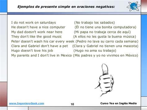 preguntas en presente perfecto en ingles afirmativas negativas y interrogativas 1 2 presente simple oraciones afirmativas y negativas
