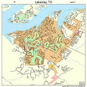 map of lakeway lakeway map 4840984