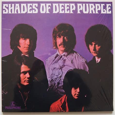 shades of deep purple shades of deep purple colored vinyl by deep purple lp