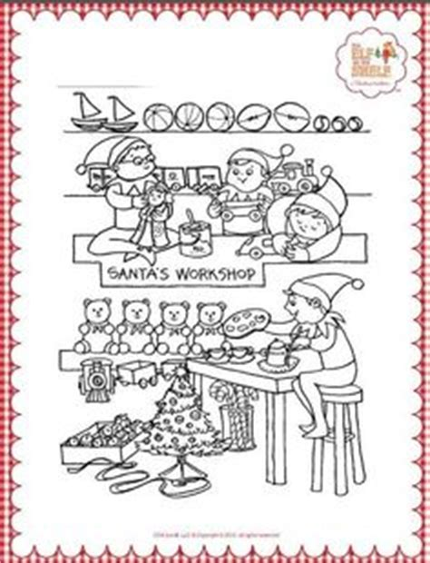 elf on the shelf doll coloring page elf on the shelf coloring page hello kindergarten