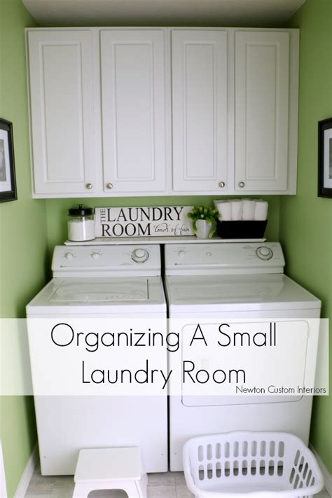 organize a small room organizing a small laundry room newton custom interiors