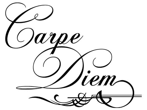wandtattoo ornament carpe diem bei homesticker de