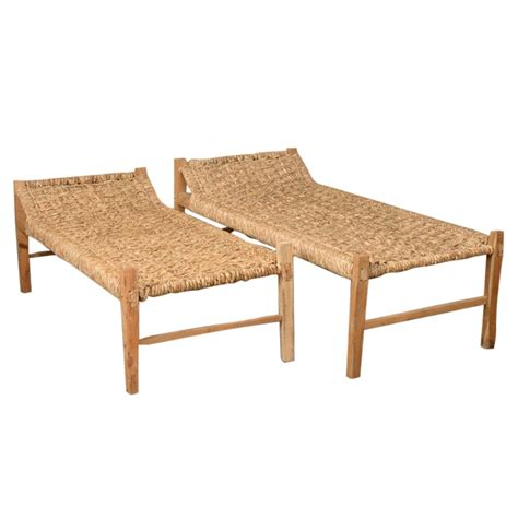 woven benches solaires woven benches found vintage rentals