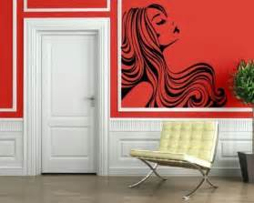 salon wall murals earth alone earthrise book 1 vinyls wavy hair and