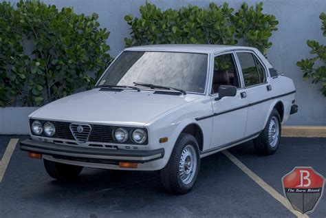 alfa romeo sedan 1979 alfa romeo sport sedan alfetta for sale 93021 mcg