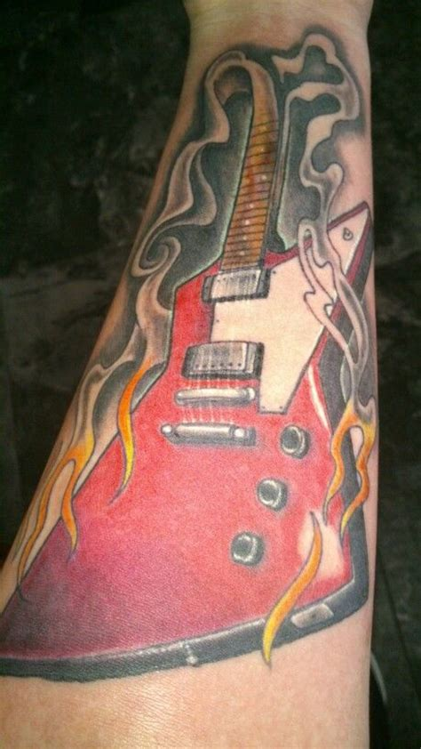 explore tattoo gibson explorer smoke and tattoos