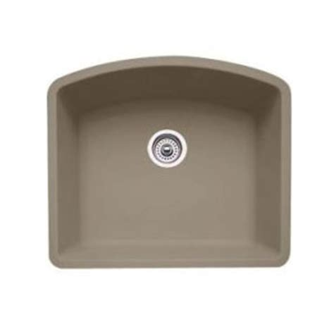 blanco truffle sink blanco 441281 single bowl silgranit ii undermount