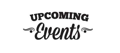 Or Upcoming Black Upcoming Events Clipart The Cliparts