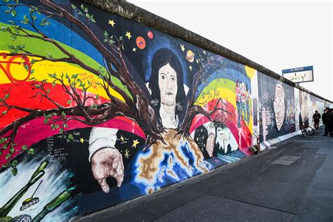 How To Do A Wall Mural the berlin wall s iconic east side gallery the wanderblogger