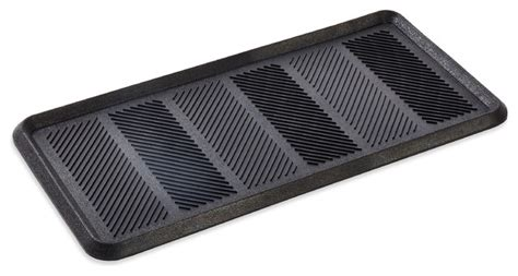 multi purpose rubber boot tray traditional outdoor