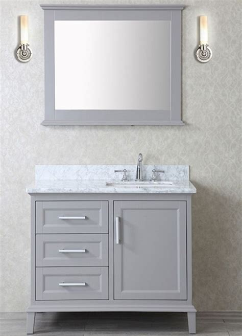 Bathroom Mirror Vanity Cabinet 17 Best Ideas About Grey Bathroom Vanity On Pinterest Grey Bathroom Cabinets Vanity