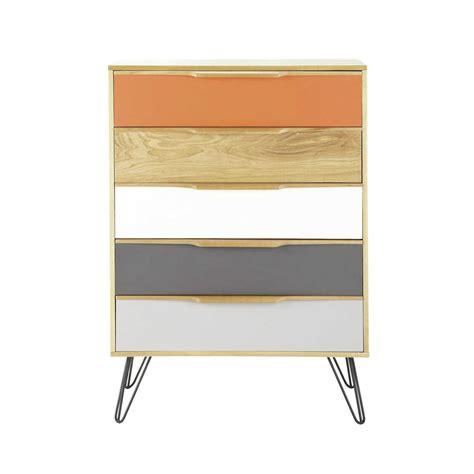 cassettiere maison du monde cassettiera vintage in legno multicolor twist twist