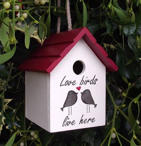 love birds house music love birds birdhouse by the painted broom company