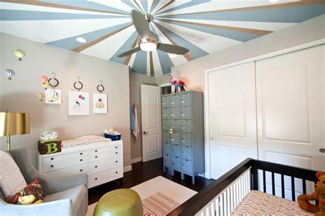 nursery ceiling fan brushed nickel ceiling fan nursery contemporary with