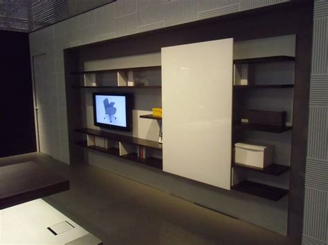 libreria thiene modular wooden office shelving boiserie by estel