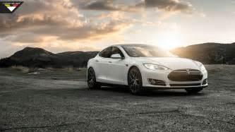 Image Of Tesla 2014 Vorsteiner Tesla Model S P85 Wallpaper Hd Car