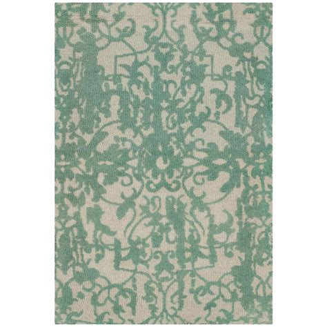 turquoise and gray rug safavieh restoration vintage gray turquoise 2 ft x 3 ft area rug rvt101c 2 the home depot