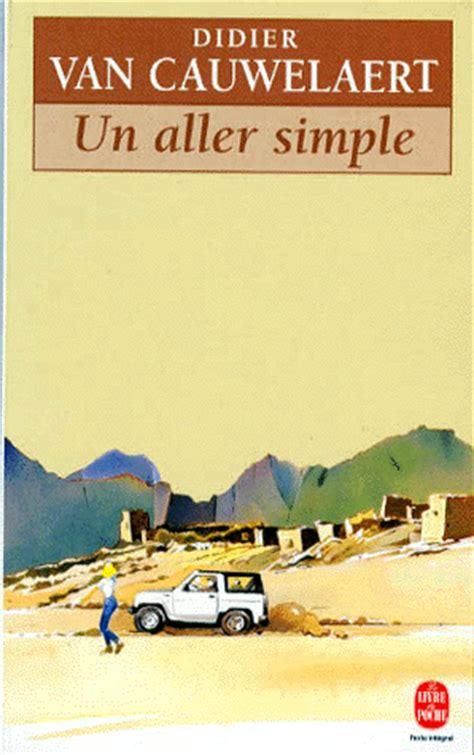 un aller simple fiction un aller simple didier van cauwelaert decitre 9782253138532 livre