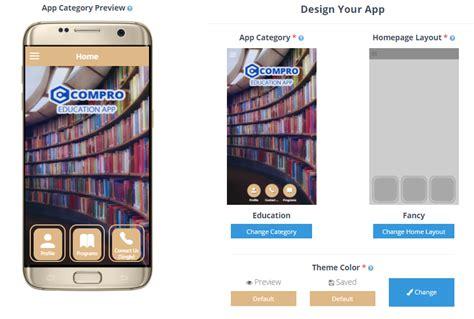 layout aplikasi mobile engine compro cara gang membuat aplikasi mobile